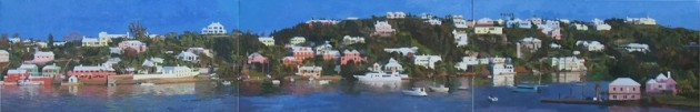 Alex Allardyce art, Bermuda painting